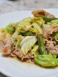 stir fry napa cabbage